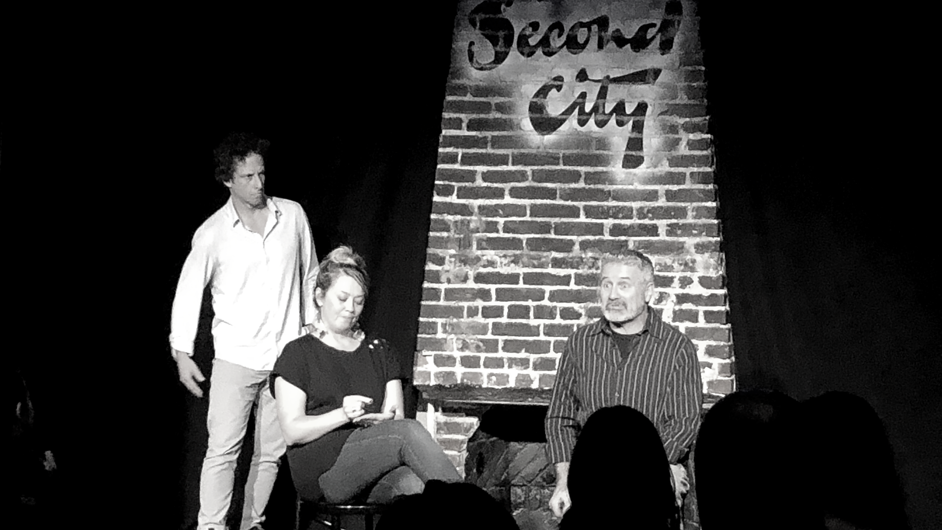 people doing things  (March 30) Second City Hollywood